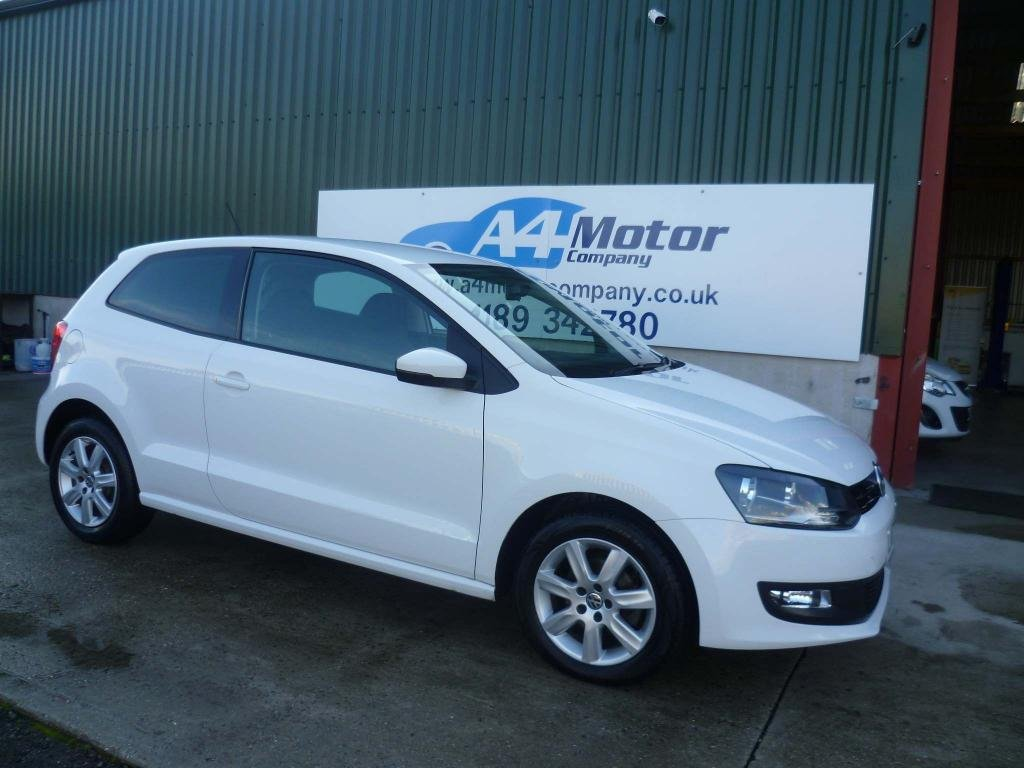 USED 2013 63 VOLKSWAGEN POLO 1.2 Match Edition 3dr LOW MILEAGE! 1.2 LOW INSURANCE