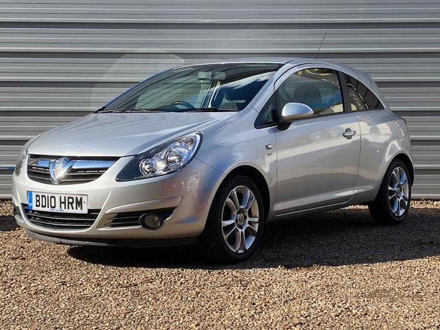 USED 2010 10 VAUXHALL CORSA 1.2 SXI 3d 83 BHP Just 1 Prev owner+only 72,000m