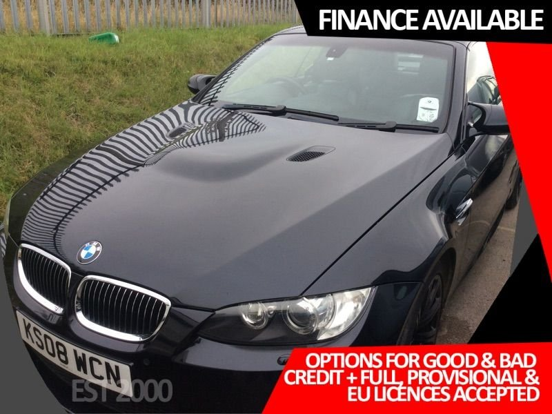 USED 2008 08 BMW M3 4.0 M3 2d 414 BHP * SAT NAV * 19 INCH ALLOY WHEELS * HEATED LEATHER *