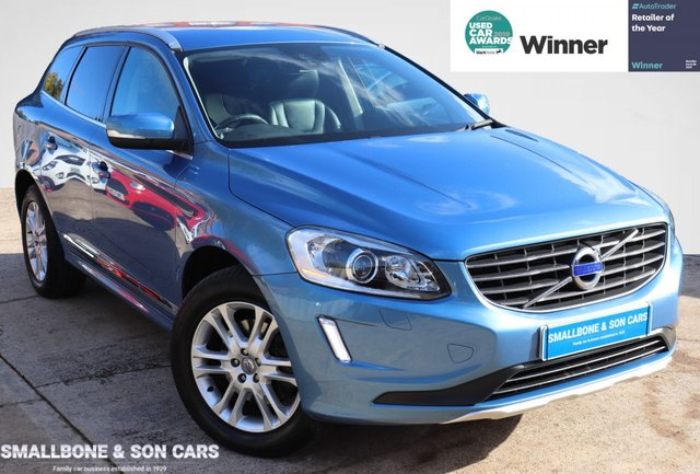 USED 2015 64 VOLVO XC60 2.4 D4 SE LUX NAV AWD 5d 178 BHP * BUY ONLINE * CONTACTLESS PURCHASE AVAILABLE *