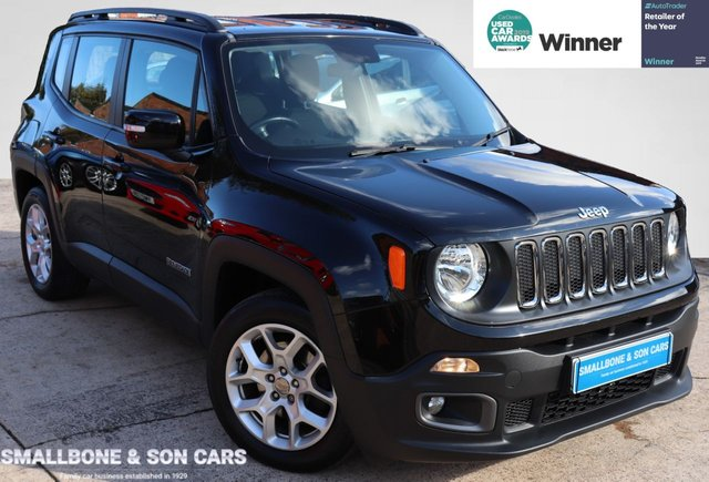 USED 2016 66 JEEP RENEGADE 1.6 M-JET LONGITUDE 5d 118 BHP * BUY ONLINE * CONTACTLESS PURCHASE AVAILABLE *