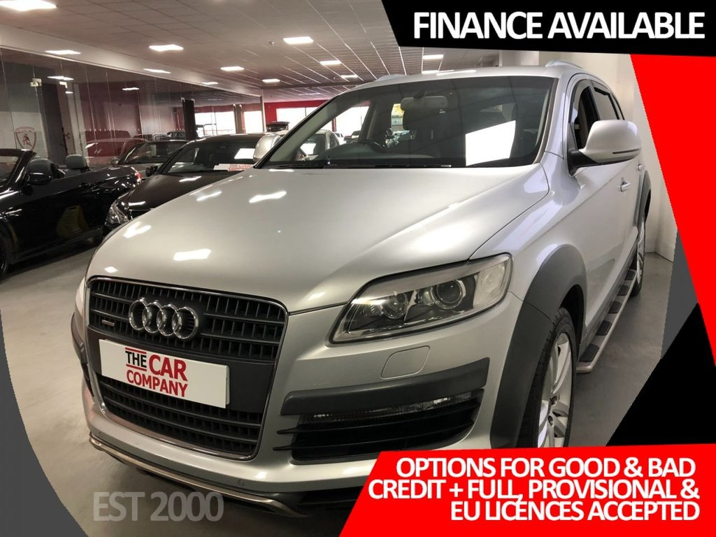 USED 2007 07 AUDI Q7 3.0 TDI QUATTRO LIMITED EDITION 5d 234 BHP * SAT NAV * LEATHER * 20 INCH ALLOYS *