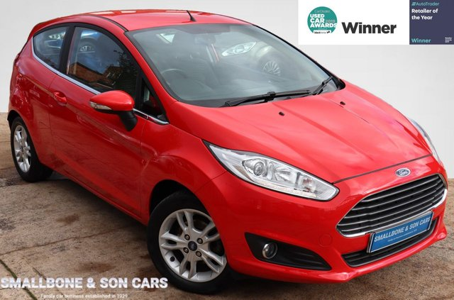 USED 2017 17 FORD FIESTA 1.2 ZETEC 3d 81 BHP * BUY ONLINE * FREE NATIONWIDE DELIVERY *