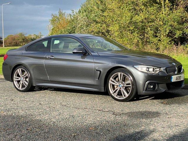 USED 2013 63 BMW 4 SERIES 3.0 435D XDRIVE M SPORT 2d 309 BHP 4 WHEEL DRIVE Professional Nav Tinted Glass SOS