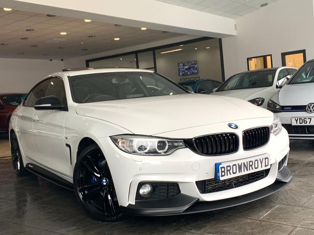 USED 2015 65 BMW 4 SERIES GRAN COUPE 2.0 420D M SPORT GRAN COUPE 4d 188 BHP BM PERFORMANCE STYLING+6.9%APR