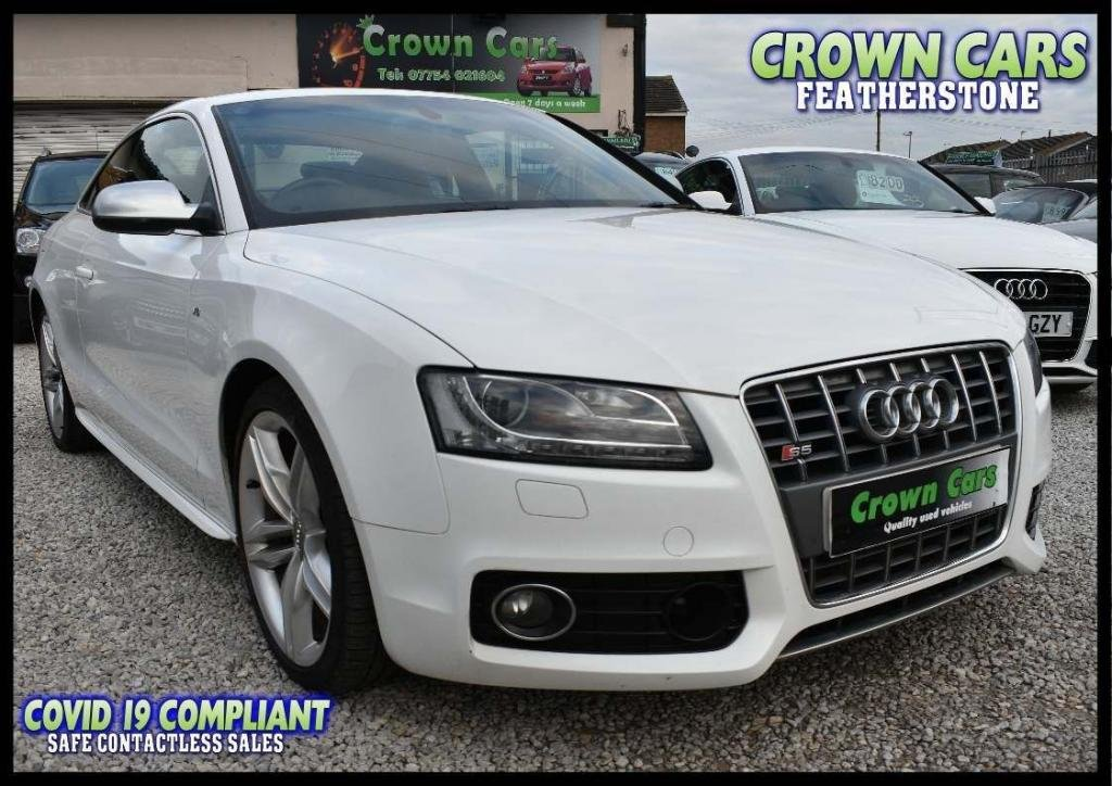 USED 2010 60 AUDI A5 4.2 FSI quattro 3dr AMAZING LOW RATE FINANCE DEALS