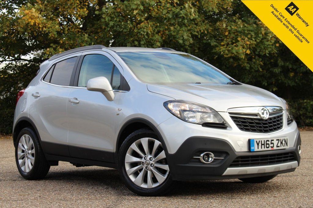 USED 2015 65 VAUXHALL MOKKA 1.4 SE 5d 138 BHP ** FULL SERVICE HISTORY ** BRAND NEW MOT + SERVICE ** HEATED LEATHER INTERIOR + HEATED STEERING WHEEL ** FRONT + REAR PARKING AID ** CUISE CONTROL ** BLUETOOTH ** AUTO LIGHTS + WIPERS ** ULEZ CHARGE EXEMPT ** LOW RATE £0 DEPOSIT FINANCE AVAILABLE **