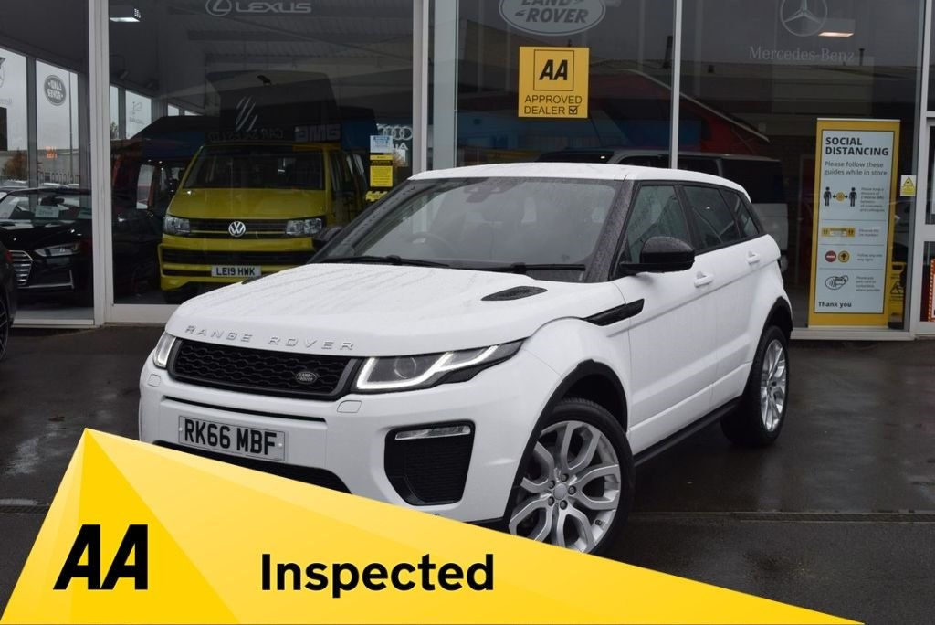 USED 2016 66 LAND ROVER RANGE ROVER EVOQUE 2.0 TD4 HSE DYNAMIC 5d 177 BHP FINANCE TODAY WITH NO DEPOSIT - FULL LAND ROVER SERVICE HISTORY