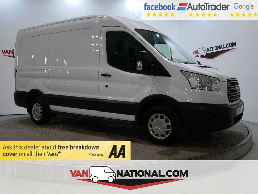USED 2018 18 FORD TRANSIT 2.0 290 L2 H2 P/V 130 BHP TREND (MWB *AIR CON SENSORS EURO 6*) * ONE OWNER * EURO 6 * AIR CON * ZERO DEPOSIT FINANCE AVAILABLE *