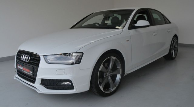 USED 2013 AUDI A4 2.0 TDI BLACK EDITION 4DOOR 141 BHP *GLACIER WHITE*