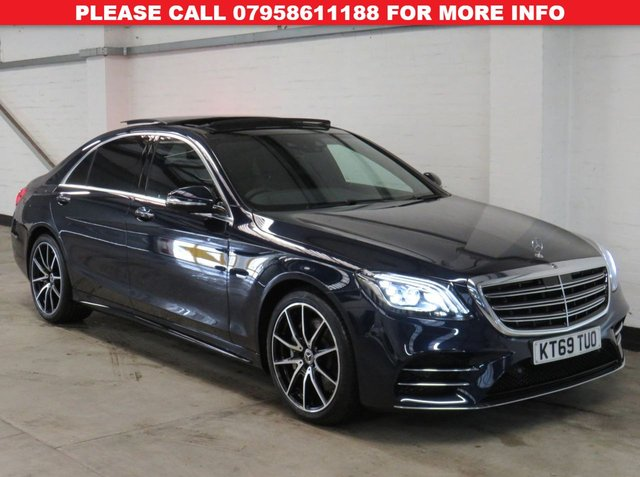 USED 2020 69 MERCEDES-BENZ S-CLASS 2.9 S 350 D L GRAND EDITION EXECUTIVE 4d 282 BHP GRAND EDITION / EXECUTIVE REAR