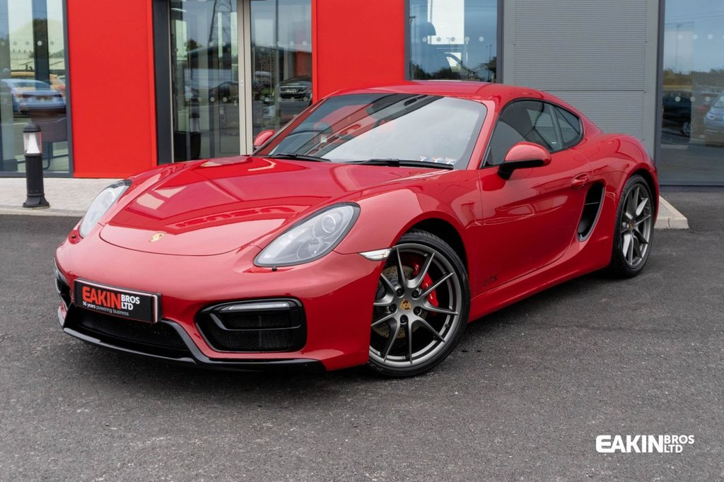 USED 2016 54 PORSCHE CAYMAN 3.4 GTS 2d 340 BHP ***Absolutely stunning car, Only one like in the UK***