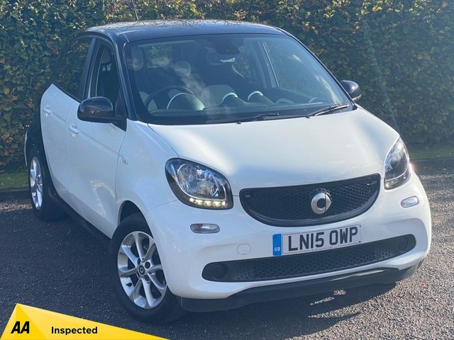USED 2015 15 SMART FORFOUR 1.0 PASSION 5d 71 BHP LOW MILEAGE STARTER CAR