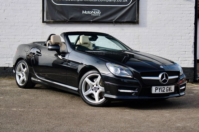 2012 12 MERCEDES-BENZ SLK 2.1 SLK250 CDI BLUEEFFICIENCY AMG SPORT 2d 204 BHP