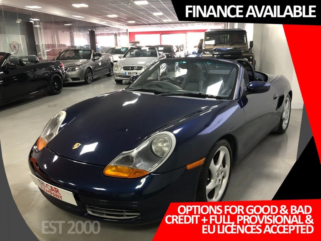 USED 2001 F PORSCHE BOXSTER 2.7 24V 2d 217 BHP * 13 SERVICE STAMPS *