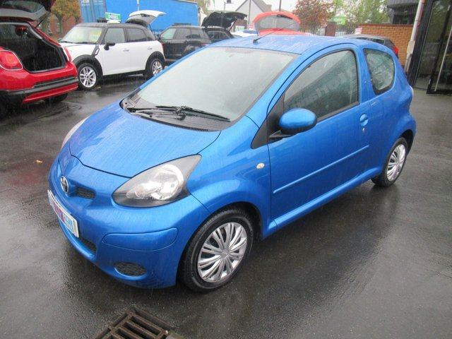 USED 2009 59 TOYOTA AYGO 1.0 BLUE VVT-I 3d 67 BHP LOW TAX AND LOW INSURANCE
