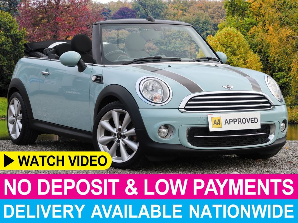 USED 2014 14 MINI CONVERTIBLE 1.6 Cooper D 2dr Chili Pack Bonnet Stripes Chili Pack Bonnet Stripes