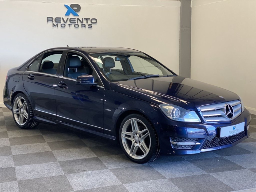 USED 2012 12 MERCEDES-BENZ C-CLASS 2.1 C220 CDI BLUEEFFICIENCY SPORT 4d 168 BHP