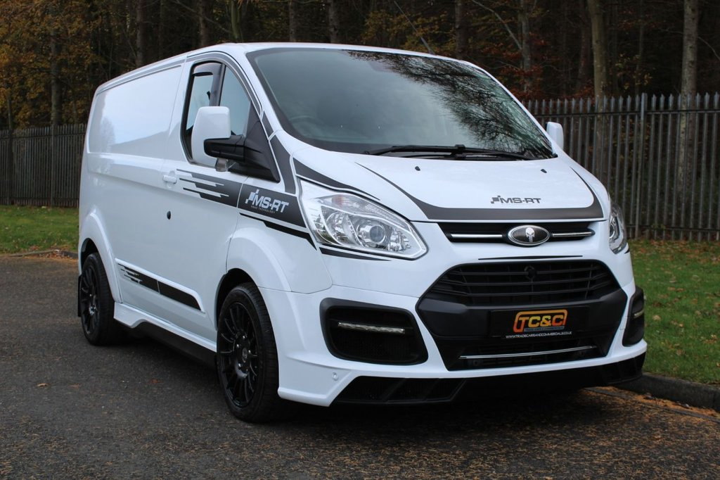 USED 2018 18 FORD TRANSIT CUSTOM 2.0 290 MS-RT M SPORT LR P/V 168 BHP A GENUINE LOW MILEAGE MSRT CUSTOM WITH NO VAT TO BE ADDED AND STILL UNDER FORD WARRANTY!!!