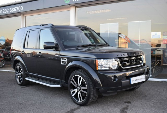 2012 62 LAND ROVER DISCOVERY 4 3.0 SDV6 HSE LUXURY 5d 255 BHP