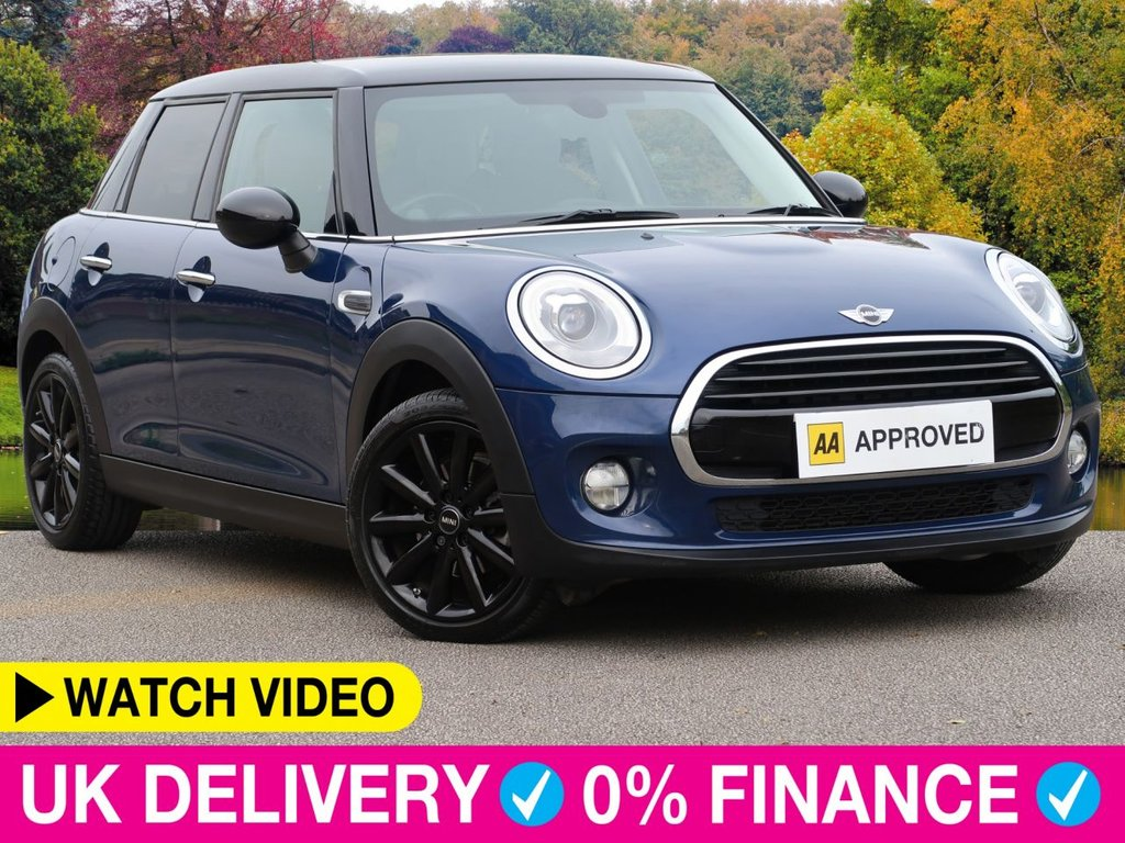 USED 2017 17 MINI HATCH 1.5 Cooper D Auto 5dr Gloss Black Wheels Roof Sat Nav Chili Pack Media XL