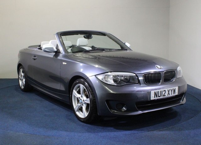 USED 2012 12 BMW 1 SERIES 2.0 118I EXCLUSIVE EDITION 2d 141 BHP