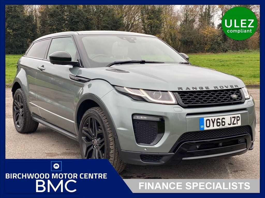 USED 2016 66 LAND ROVER RANGE ROVER EVOQUE 2.0 TD4 HSE DYNAMIC LUX 3d 177 BHP. FULL SERVICE HISTORY!!!!!