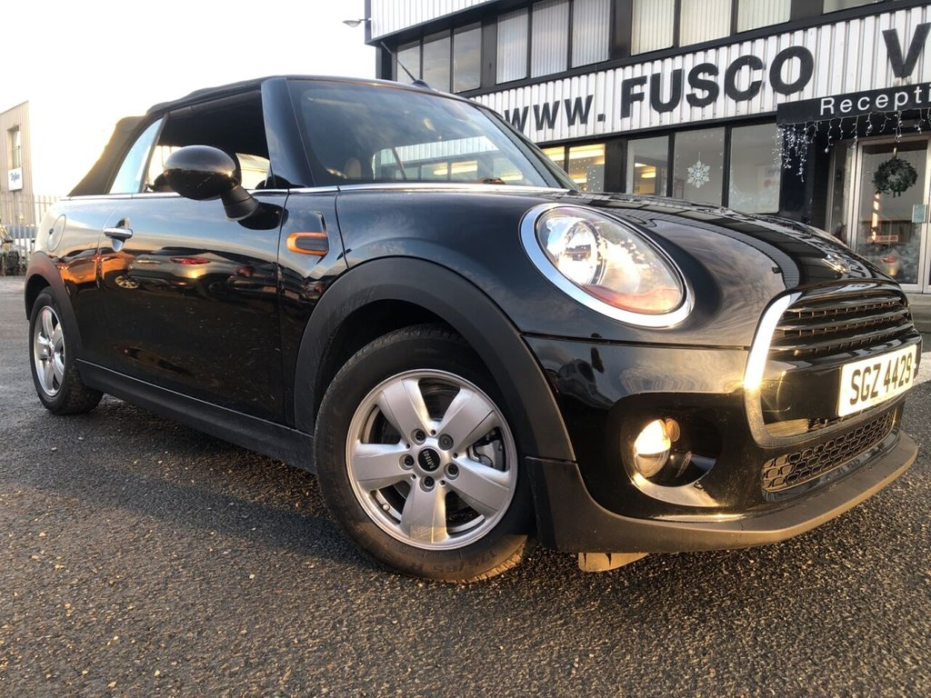 USED 2016 MINI CONVERTIBLE 1.5 COOPER 2d 134 BHP £270 a month, T&Cs apply.