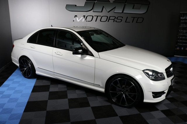 USED 2013 13 MERCEDES-BENZ C-CLASS 2013 MERCEDES C250 CDI BLUEEFFICIENCY AMG SPORT PLUS NIGHT EDITION STYLE 202BHP (FINANCE AND WARRANTY)