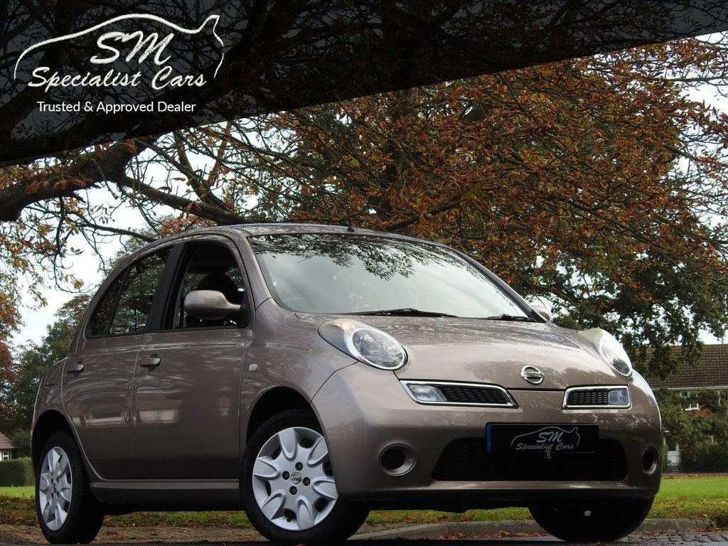 USED 2007 57 NISSAN MICRA 1.2 ACENTA 5d 80 BHP ONLY 18K FROM NEW A/C FSH VGC