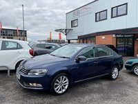USED 2014 14 VOLKSWAGEN PASSAT 1.6 EXECUTIVE TDI BLUEMOTION TECHNOLOGY 4d 104 BHP