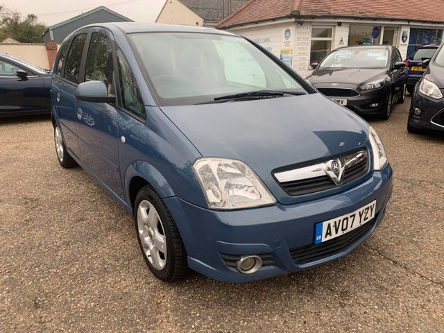 USED 2007 07 VAUXHALL MERIVA 1.7 DESIGN CDTI 16V 5d 100 BHP COMPREHENSIVE HISTORY WITH CAM BELT DONE 2016