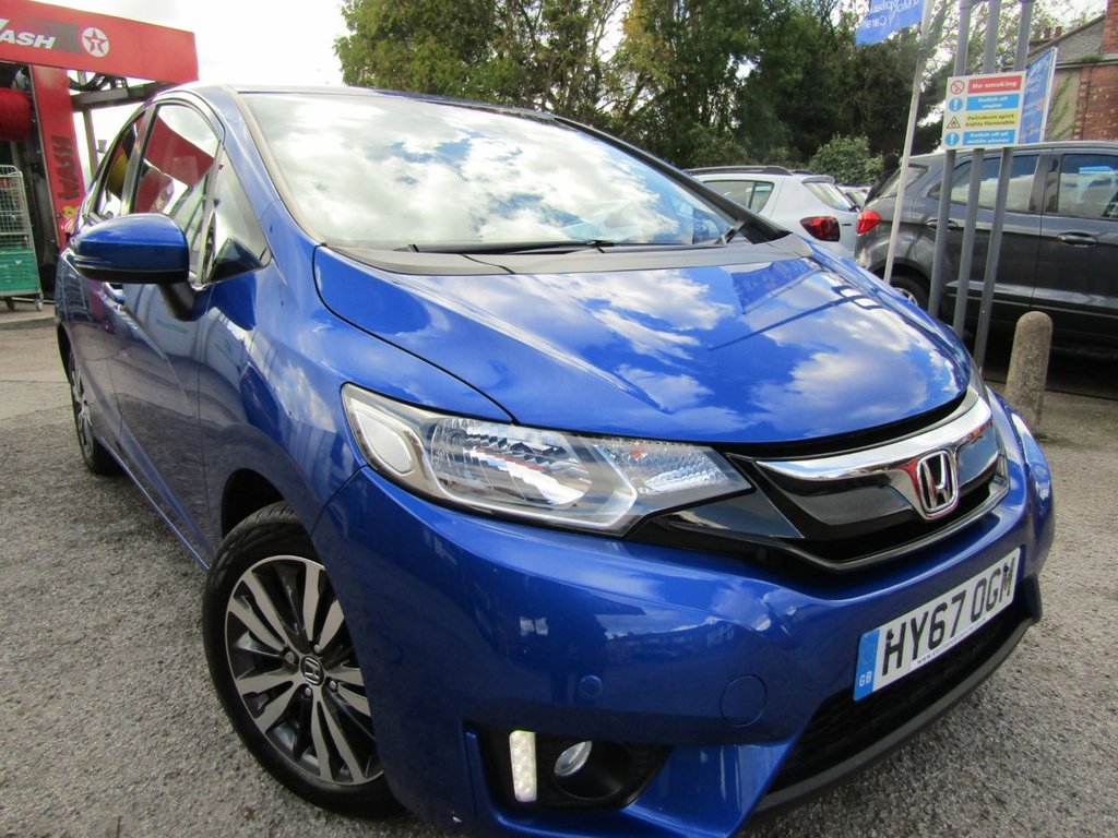 USED 2017 67 HONDA JAZZ 1.3 I-VTEC EX 5d 101 BHP A ONE OWNER CAR , EX MOTABILITY WITH A  FULL SERVICE HISTORY,, GREAT SPEC CAR COMES WITH,  BLUETOOTH DAB DAYTIME  RUNNING LIGHTS  MUCH MORE, GREAT HIGHER DRIVING POSITION FOR EASY ACCESS,
