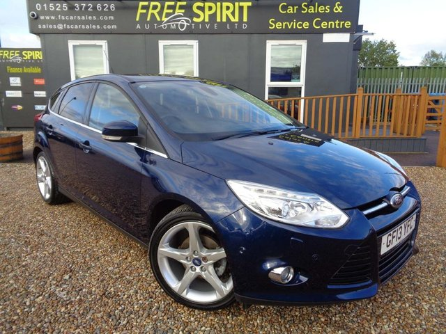 USED 2013 13 FORD FOCUS 1.6 TDCi Titanium X 5dr Nav, Bluetooth, Rear Cam