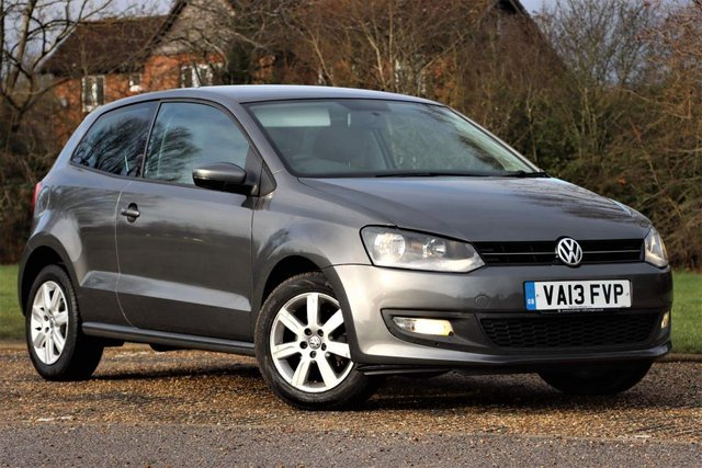 USED 2013 13 VOLKSWAGEN POLO 1.2 Match Edition 3dr Full s/h  MOT LOW Mileage