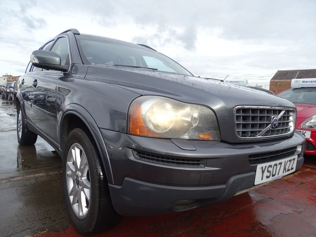 USED 2007 07 VOLVO XC90 2.4 D5 SE 5d 183 BHP 7 SEATER AUTOMATIC