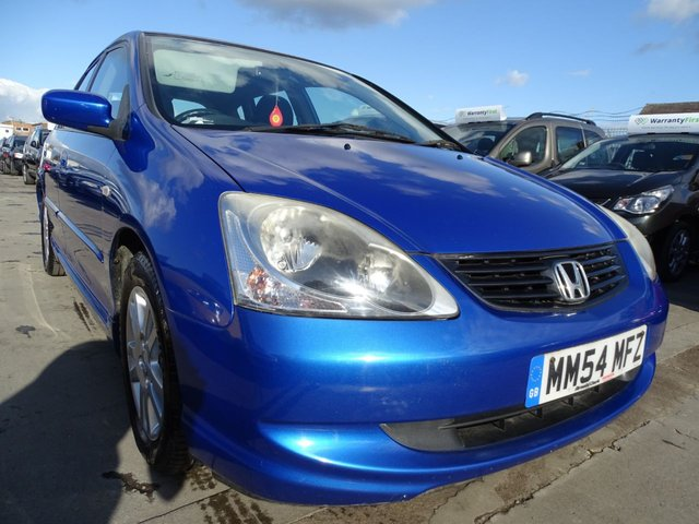 USED 2005 54 HONDA CIVIC 1.6 SE 5d 110 BHP AUTOMATIC LOW MILES
