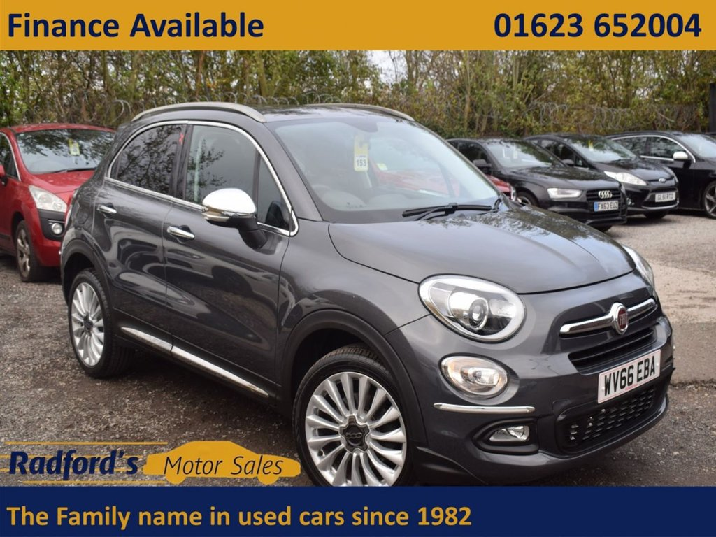 USED 2016 66 FIAT 500X 1.4 MULTIAIR LOUNGE DDCT 5d 140 BHP