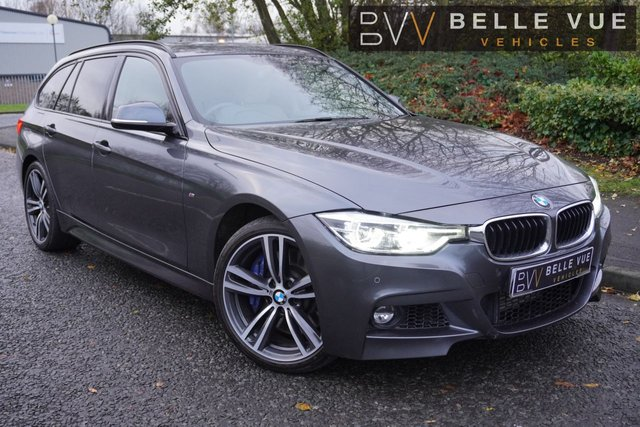 USED 2017 17 BMW 3 SERIES 3.0 335D XDRIVE M SPORT TOURING 5d 308 BHP - FREE DELIVERY* *M SPORT PLUS PACK, PRO NAV, MUST SEE!*