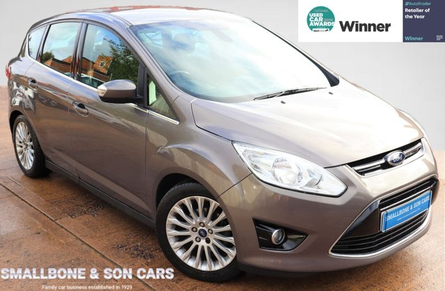 USED 2012 62 FORD C-MAX 1.6 TITANIUM 5d 123 BHP * BUY ONLINE * CONTACTLESS PURCHASE AVAILABLE *