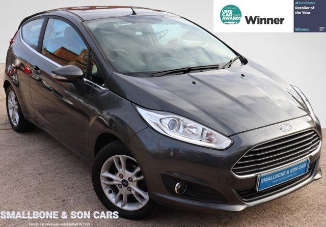 USED 2015 65 FORD FIESTA 1.2 ZETEC 3d 81 BHP * BUY ONLINE * FREE NATIONWIDE DELIVERY *