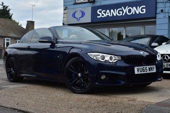 2015 BMW 4 SERIES 3.0 435I M SPORT 2d 302 BHP £21999.00