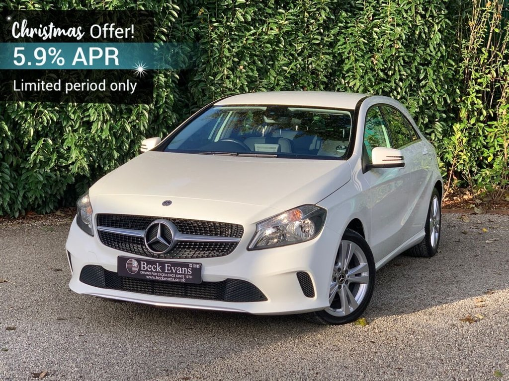 USED 2017 67 MERCEDES-BENZ A-CLASS 2.1 A 200 D SPORT 5d 134 BHP FULL LEATHER