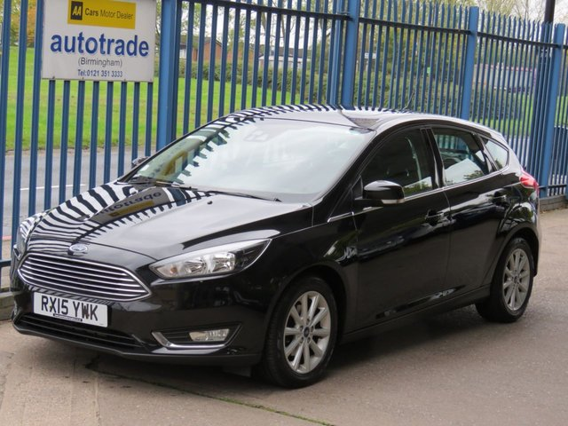USED 2015 15 FORD FOCUS 1.6 TITANIUM 5dr 124 Automatic, Ulez Compliant, Sat nav Cruise Sunroof DAB Alloys Finance arranged Part exchange available Open 7 days ULEX Compliant