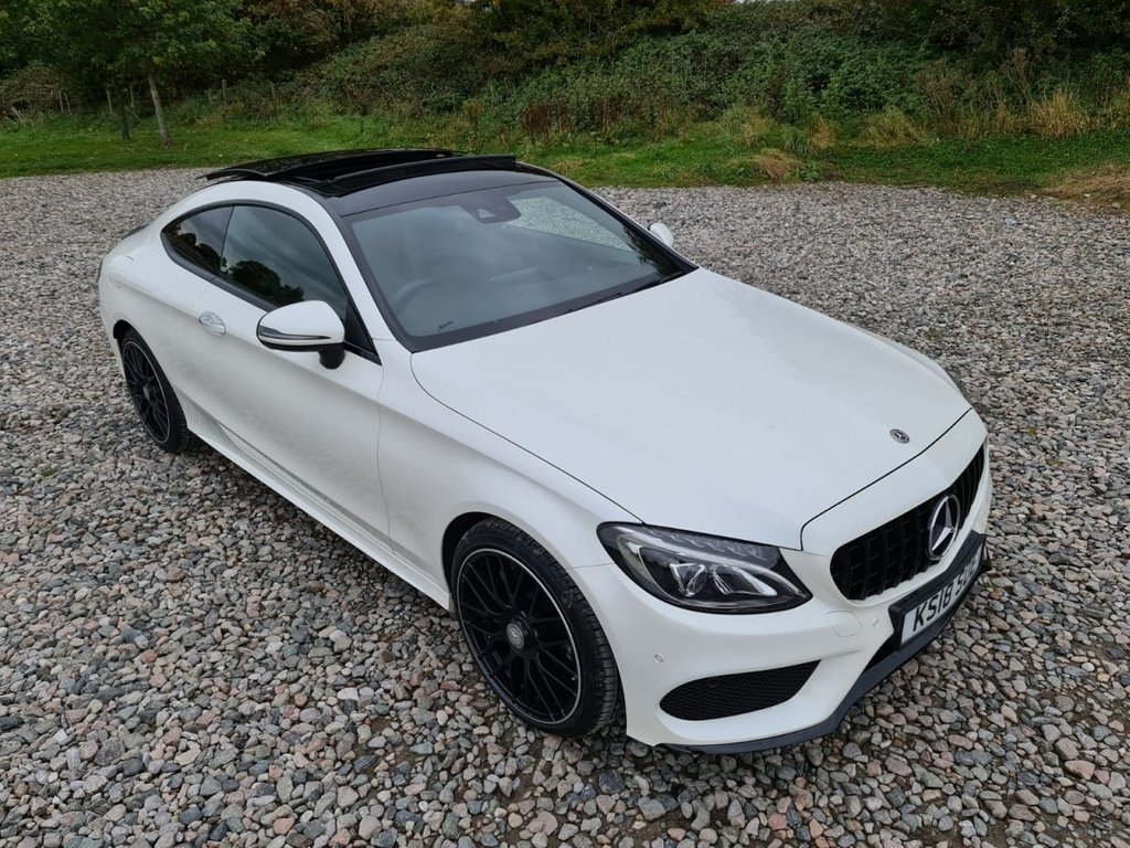USED 2018 18 MERCEDES-BENZ C-CLASS 2.1 C 250 D AMG LINE PREMIUM PLUS 2d 201 BHP