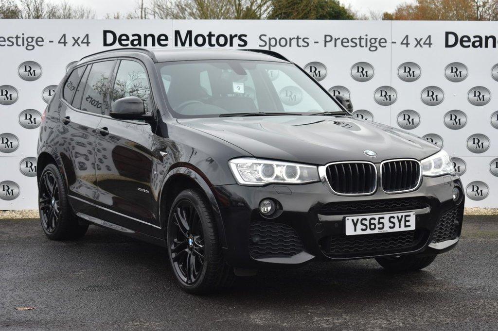USED 2015 65 BMW X3 2.0 XDRIVE20D M SPORT 5d 188 BHP PANROOF