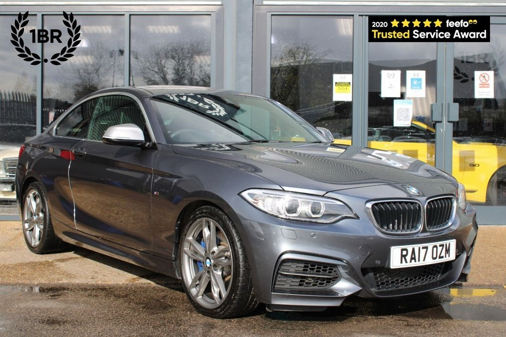 USED 2017 17 BMW 2 SERIES COUPE 3.0 M240I 2d 335 BHP