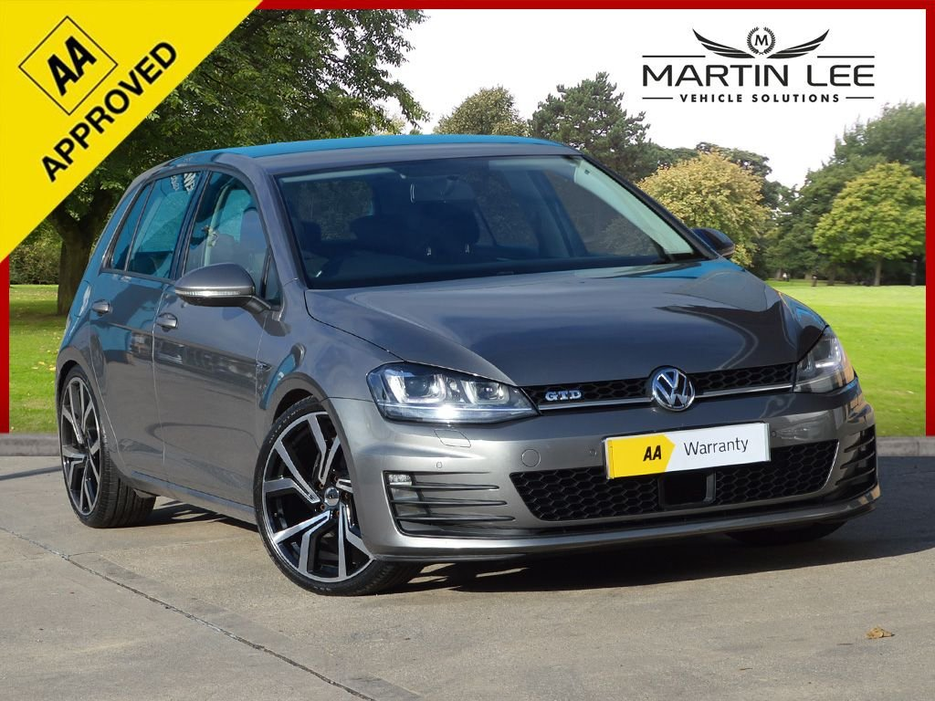 USED 2014 14 VOLKSWAGEN GOLF 1.6 S TDI BLUEMOTION TECHNOLOGY 5d 103 BHP FULL GTD STYLING KIT UPGRADE ALLOY WHEELS