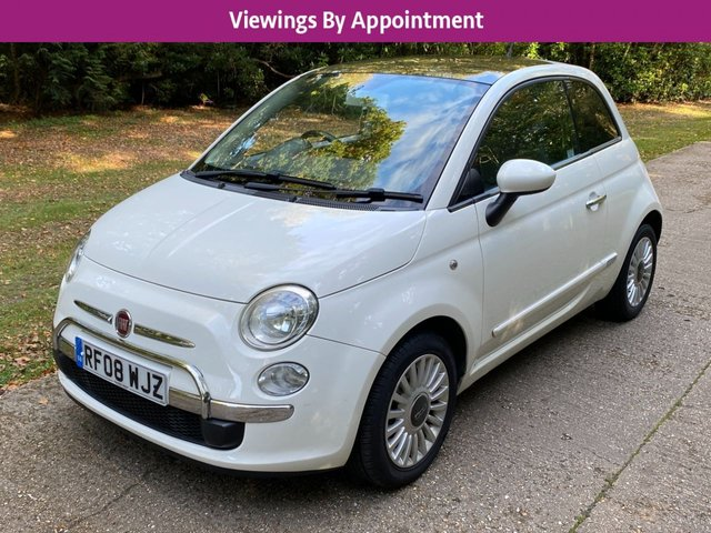USED 2008 08 FIAT 500 1.2 LOUNGE 3d 69 BHP