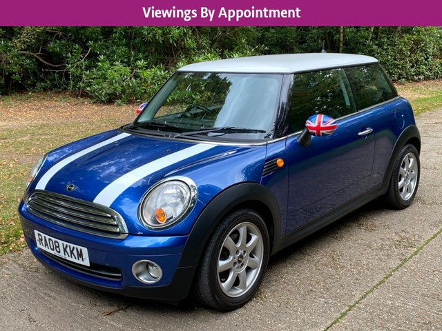 USED 2008 08 MINI HATCH COOPER 1.6 COOPER 3d 118 BHP AIR CON LOW MILEAGE FINANCE ME TODAY-UK DELIVERY POSSIBLE